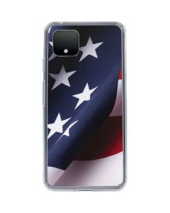 The American Flag Google Pixel 4 XL Clear Case