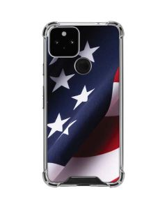 The American Flag Google Pixel 5 Clear Case