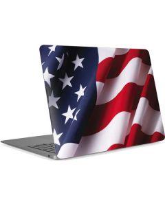The American Flag Apple MacBook Air Skin