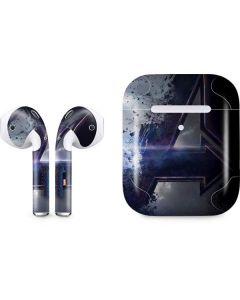 The Avengers Logo Apple AirPods 2 Skin