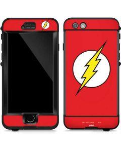 The Flash Emblem LifeProof Nuud iPhone Skin