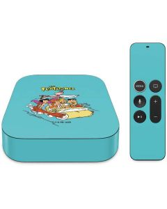 The Flintstones and Rubbles Apple TV Skin