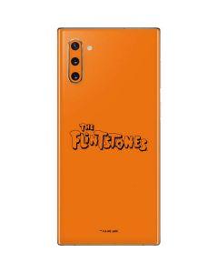 The Flintstones Outline Galaxy Note 10 Skin