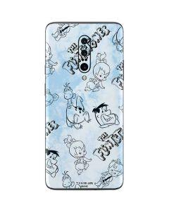 The Flintstones Tie Dye Print OnePlus 7 Pro Skin