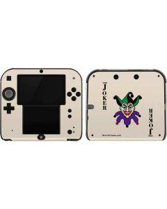 The Joker Calling Card 2DS Skin