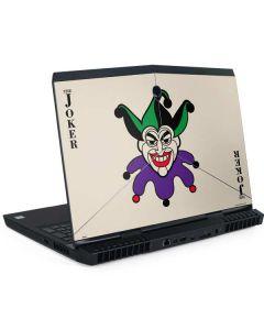 The Joker Calling Card Dell Alienware Skin