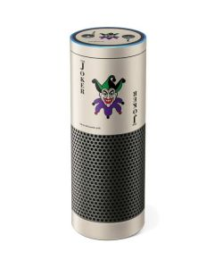 The Joker Calling Card Amazon Echo Skin
