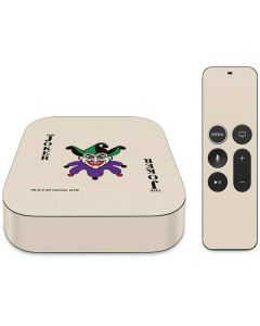 The Joker Calling Card Apple TV Skin