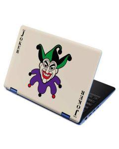 The Joker Calling Card Aspire R11 11.6in Skin