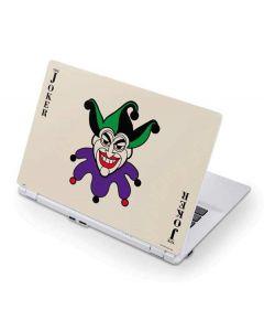 The Joker Calling Card Acer Chromebook Skin