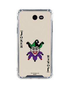 The Joker Calling Card Galaxy J7 (2017) Clear Case
