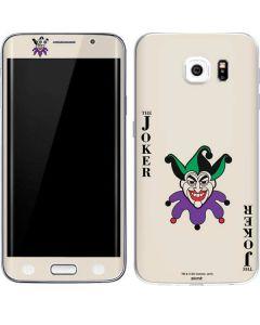 The Joker Calling Card Galaxy S6 Edge Skin