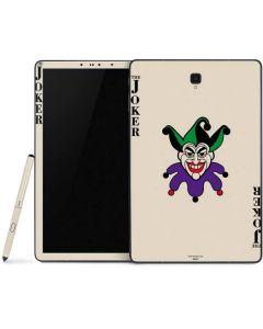 The Joker Calling Card Samsung Galaxy Tab Skin