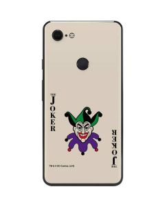 The Joker Calling Card Google Pixel 3 XL Skin