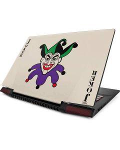 The Joker Calling Card Lenovo IdeaPad Skin
