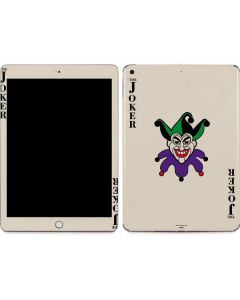 The Joker Calling Card Apple iPad Skin