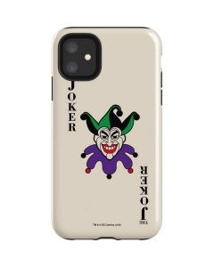 The Joker Calling Card iPhone 11 Impact Case