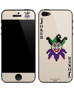 The Joker Calling Card iPhone 5/5s/SE Skin