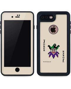 The Joker Calling Card iPhone 8 Plus Waterproof Case