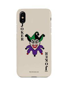 The Joker Calling Card iPhone XS Max Lite Case