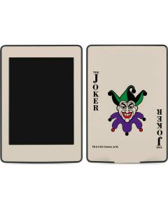 The Joker Calling Card Amazon Kindle Skin