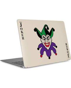 The Joker Calling Card Apple MacBook Air Skin