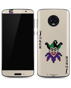 The Joker Calling Card Moto G6 Skin