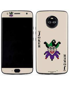 The Joker Calling Card Moto X4 Skin