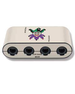 The Joker Calling Card Nintendo GameCube Controller Adapter Skin