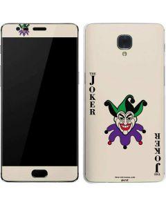 The Joker Calling Card OnePlus 3 Skin