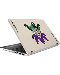 The Joker Calling Card HP Pavilion Skin