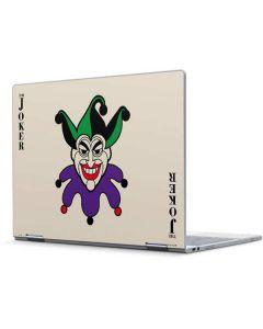 The Joker Calling Card Pixelbook Skin
