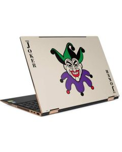 The Joker Calling Card HP Spectre Skin