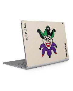 The Joker Calling Card Surface Book 2 15in Skin