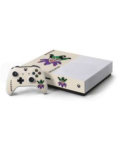 The Joker Calling Card Xbox One S Console and Controller Bundle Skin