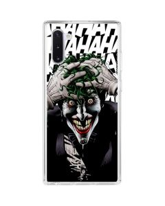 The Joker Insanity Galaxy Note 10 Clear Case