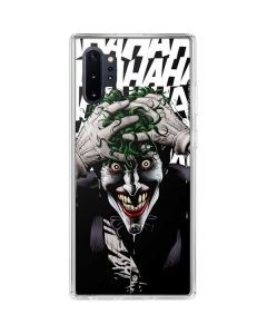 The Joker Insanity Galaxy Note 10 Plus Clear Case