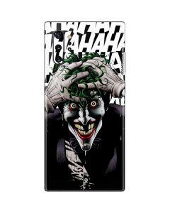 The Joker Insanity Galaxy Note 10 Plus Skin