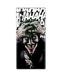 The Joker Insanity Galaxy Note 10 Skin