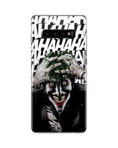 The Joker Insanity Galaxy S10 Plus Skin