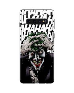 The Joker Insanity Galaxy S10 Skin