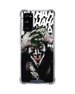 The Joker Insanity Galaxy S20 FE Clear Case