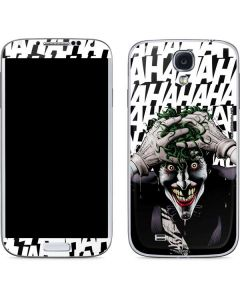 The Joker Insanity Galaxy S4 Skin
