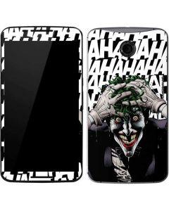 The Joker Insanity Google Nexus 6 Skin