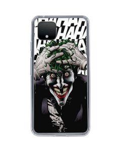 The Joker Insanity Google Pixel 4 XL Clear Case