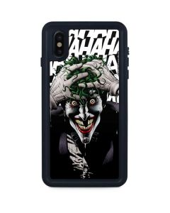 The Joker Insanity iPhone XS Max Waterproof Case