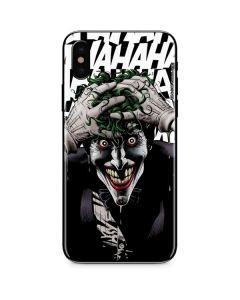 The Joker Insanity iPhone XS Skin