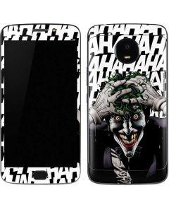 The Joker Insanity Moto E4 Plus Skin