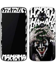 The Joker Insanity Moto E5 Play Skin