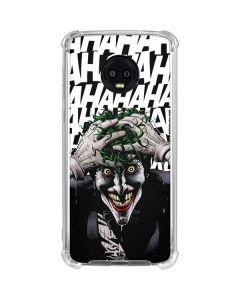 The Joker Insanity Moto G6 Clear Case